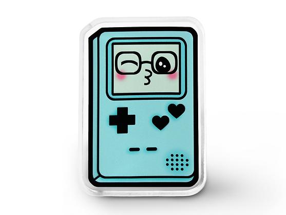 Blue Gamer Cutie Pin