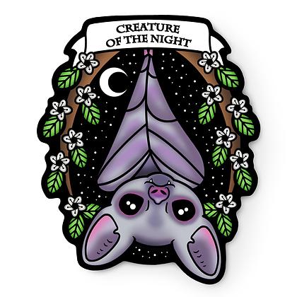 Creature of the Night Vampire Bat Sticker