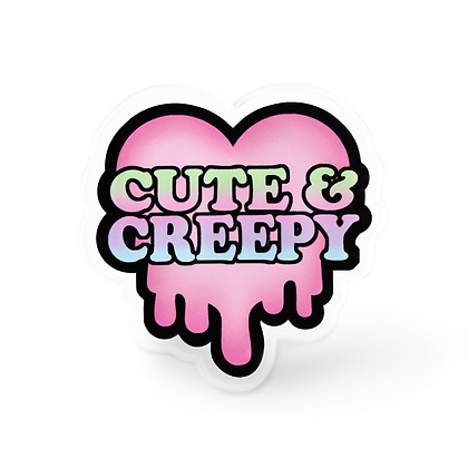 Cute and Creepy Pin