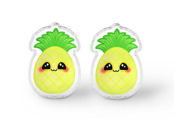 Kawaii Pineapple Earrings - Style B