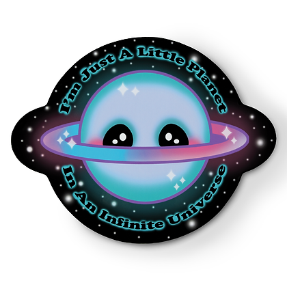 Littlest Planet Sticker