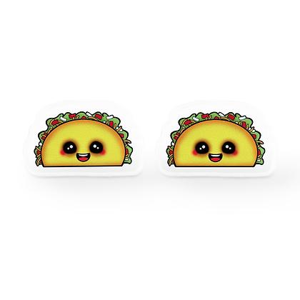 Tiny Taco Earrings
