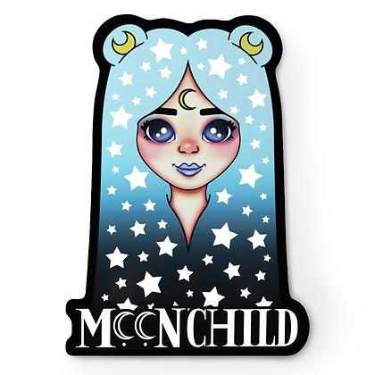 Moon Child Girl Sticker
