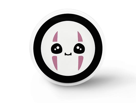Kawaii No Face Fanart Lapel Pin, Soft Grunge Aesthetic Pins