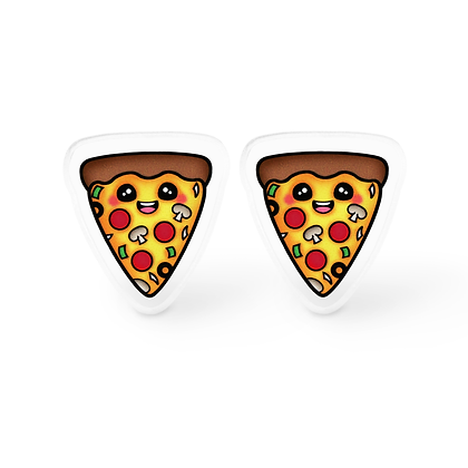 Everything Pizza Earrings