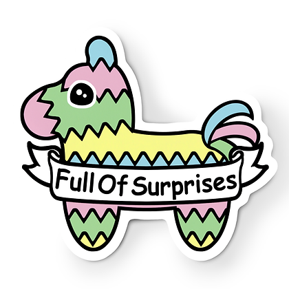 Pastel Pinata Sticker