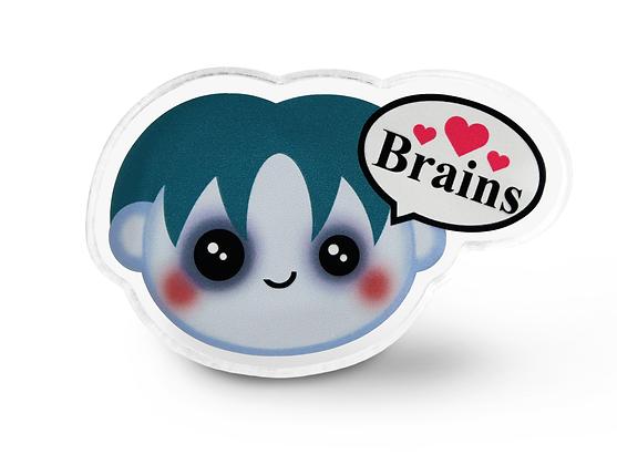 Kawaii Zombie Pin
