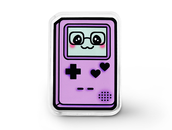 Purple Gamer Cutie Pin