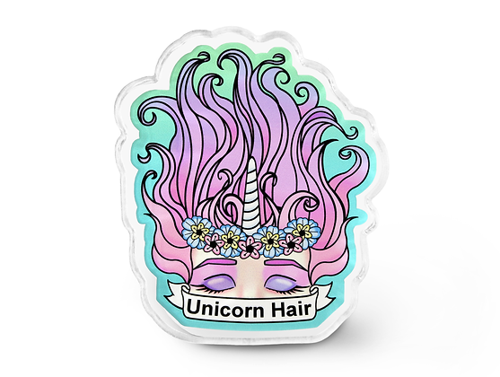 Unicorn Hair Pin - Pastel Grunge Accessories, Unicorn Pin