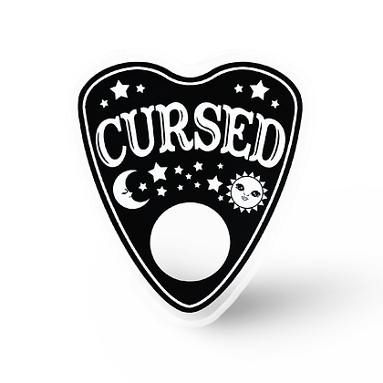 Cursed Ouija Planchette Pin