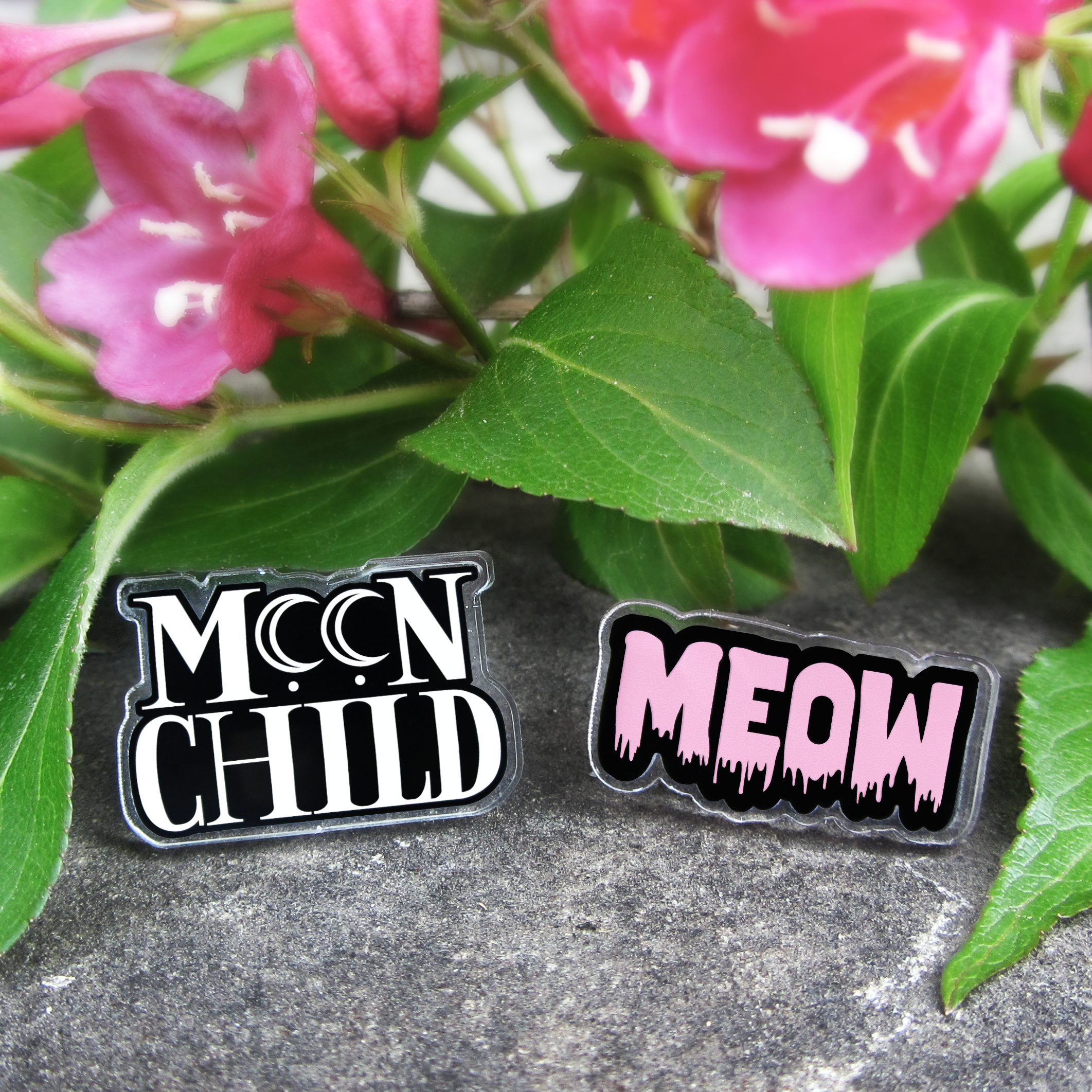 Word Lapel Pins