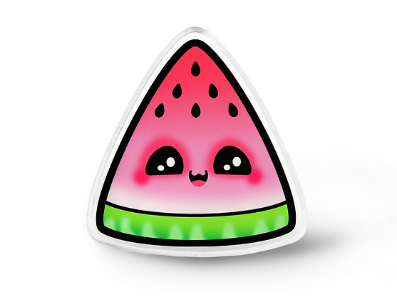 Kawaii Watermelon Pin