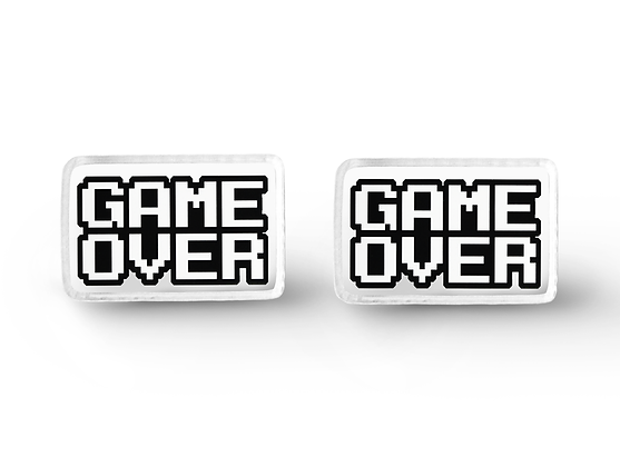 Game Over Earrings