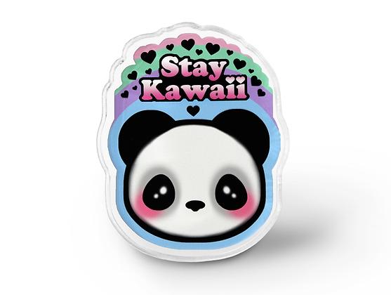 Stay Kawaii Pin
