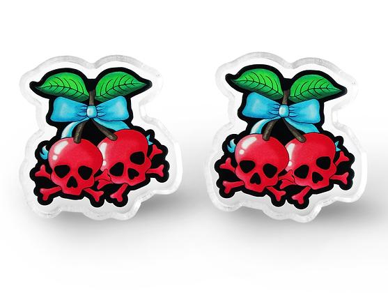 Deadly Cherry Earrings