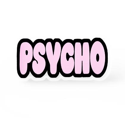 Psycho Word Pin