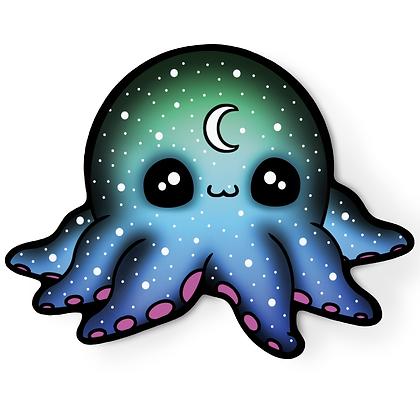 Galactic Octopus Sticker