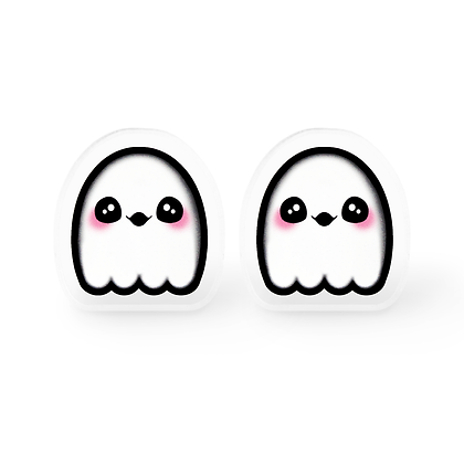 Kawaii Ghost Earrings