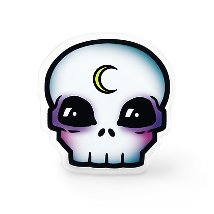 Rebel Moon Child Skull Pin