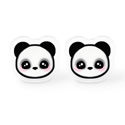 Kawaii Panda Earrings