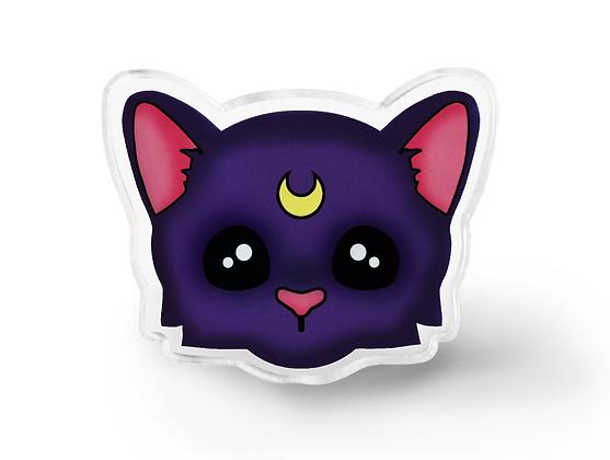 Luna Cat Pin