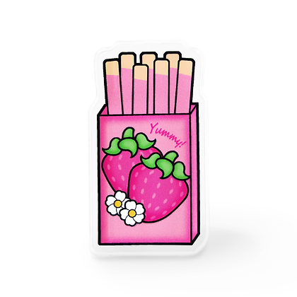 Strawberry Cookies Lapel Pin