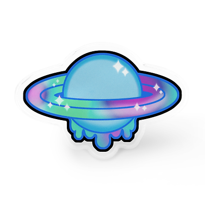 Pastel Planet Pin