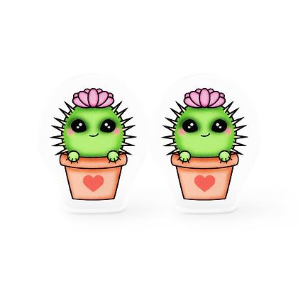 Cut You Cactus Earrings