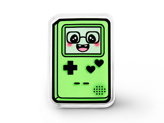 Green Gamer Cutie Pin