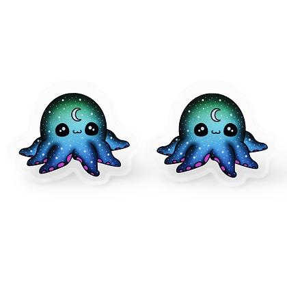 Galactic Octopus Earrings