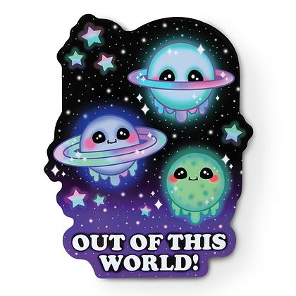 Kawaii Galaxy Sticker