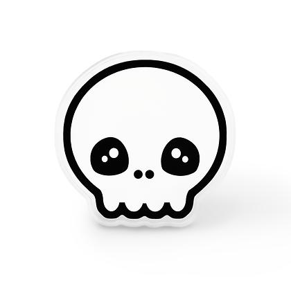 Kawaii Skull Pin