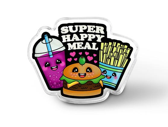 Super Happy Meal Pin - Kawaii Food Pin