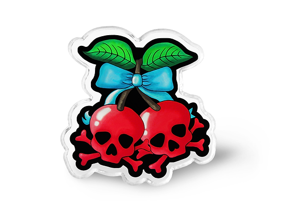 Deadly Cherries Pin