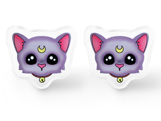 Diana Cat Earrings