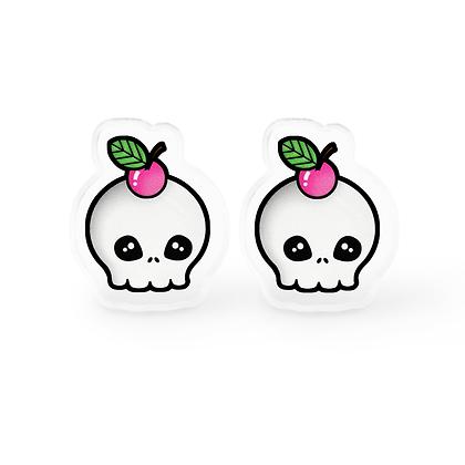 Deadly Sweet Skull Earrings