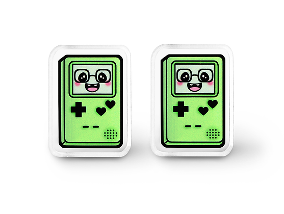 Green Gamer Cutie Earrings