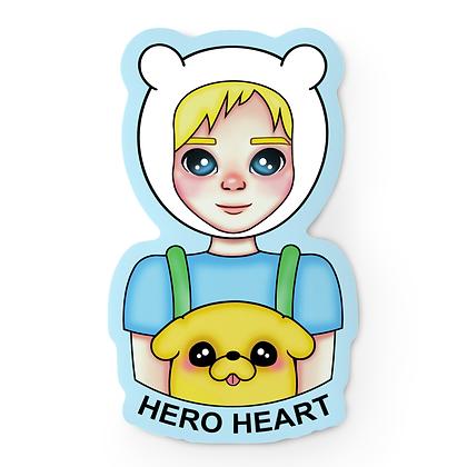 Hero Finn Sticker
