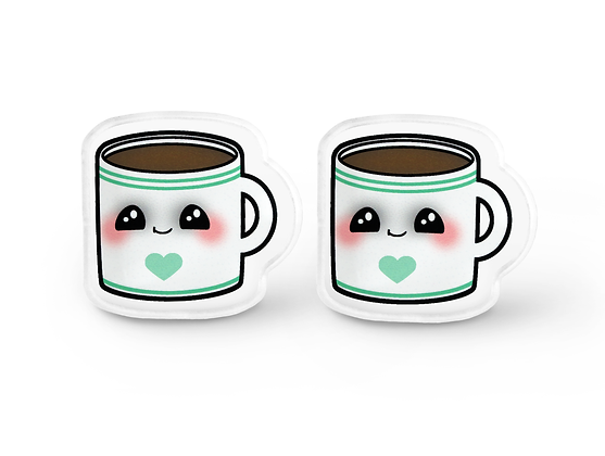 Cutie Coffee Earrings