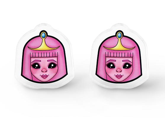 Adventure Bubblegum Fanart Earrings