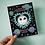Thumbnail: To the Moon and Back Greeting Card