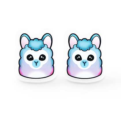 Pastel Llama Earrings