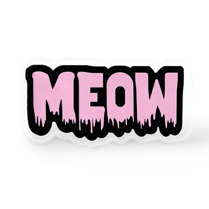 Meow Word Pin