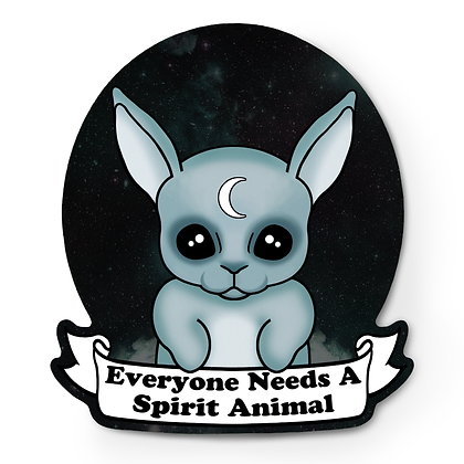 You Need A Spirit Animal Sticker - Pastel Grunge Sticker