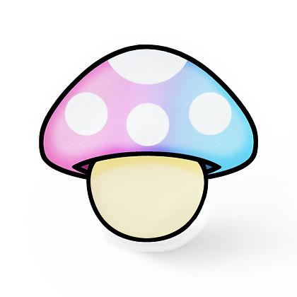 Pastel Mushroom Pin