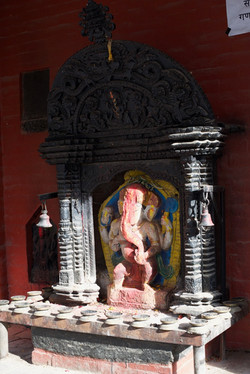 A statue of Ganesh in Nepal