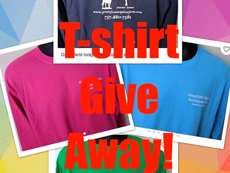 T-Shirt Give Away!🎉
