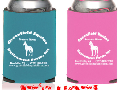 Cool off with GERF's Koozies!
