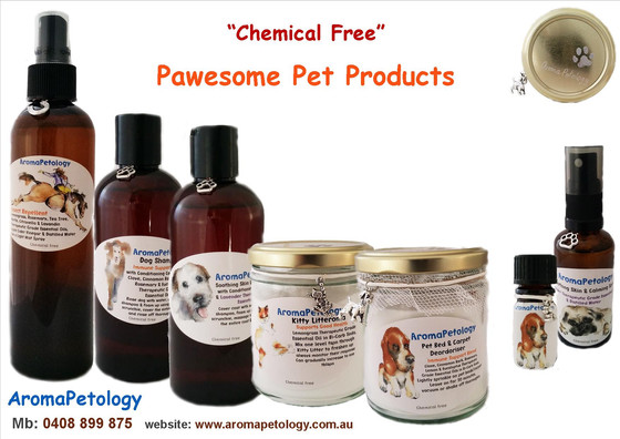 """Chemical Free"" AromaPetology Pet Products"