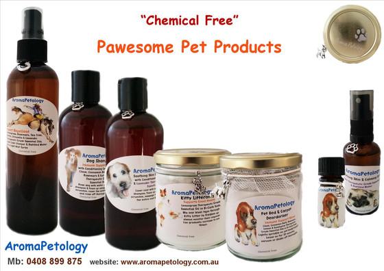 """Chemical Free"" AromaPetology Pet Products"
